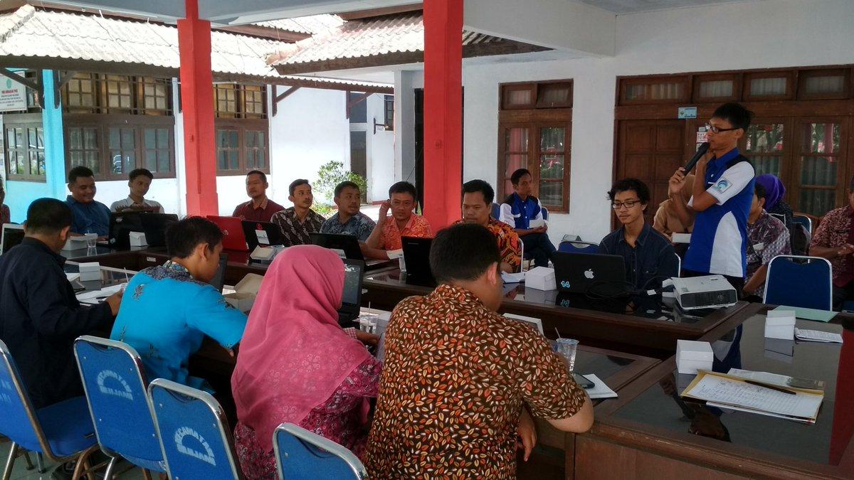 pelatihan website Dipendopo Kecamatan Ulujami